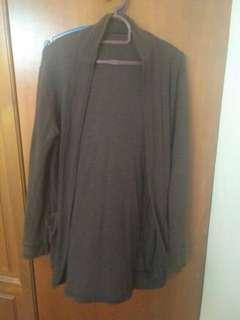Long Cardigan, Brown colour