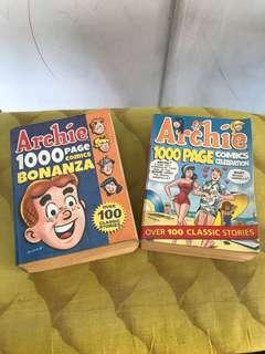 Archie 1,000 page comics