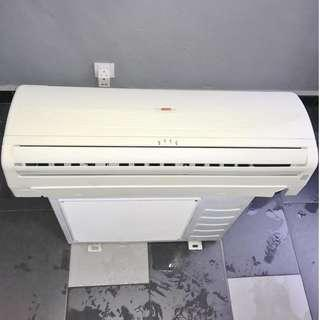 Acson 1.0hp wall (second hand) - Siap Pasang