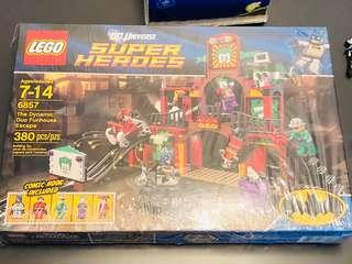 Lego 6857 The Dynamic Duo Fun House Escape