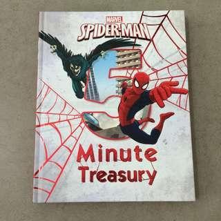 Brand New Marvel Spiderman 5-Minute Treasury Hardcover Storybook