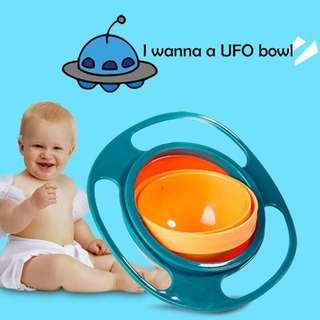 🚚 Kids Universal 360 Degree, Rotatable Spill-Proof Bowl