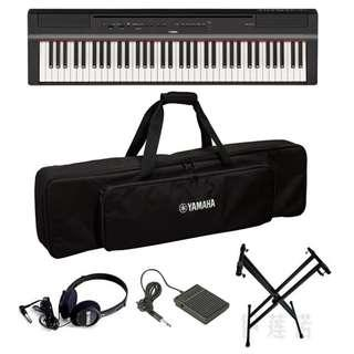 Yamaha P121 73-full-weighted-key digital piano + $50 padded gig bag + free FC5 + $15 stand + $10 headphone + $15 bench (NEW!!) (limited time)