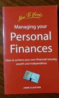 Managing your Personal Finances by John Claxton