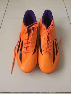 Adidas Men's Orange Football Cleats