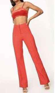 PLT red pants