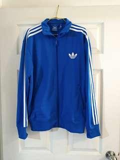 🚚 Adidas愛迪達寶藍三條線運動外套