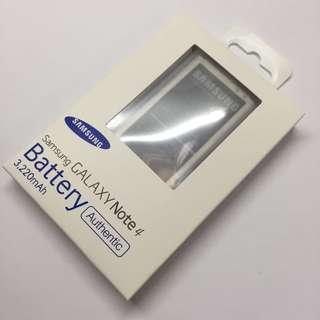 原裝全新 三星 Samsung Note 4 電池 3220mah battery