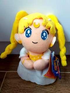 🌙93年Sailormoon R婚紗版毛公仔吊飾掛飾 美少女戰士 月野兔