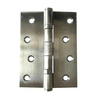 "BN 4"" Stainless Steel Door/Cabinet Hinges (4"" x 3"" x 2 mm) - 2 Ball Bearings"