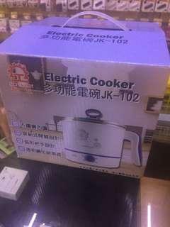 🚚 晶工牌 1.5公升 不銹鋼多功能電碗/美食鍋/快煮鍋/電火鍋/快煮壺  JK-102