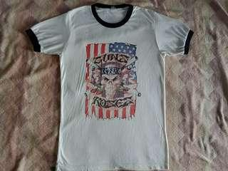 T shirt band gun n roses