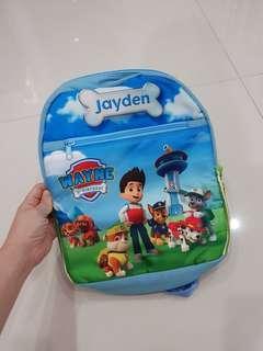 Paw Petrol Bag