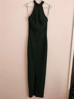 Forest Green Formal Gown - Full Length with split