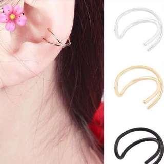 Gold fake earcuff