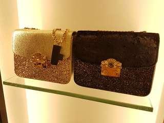 BN Charles N Keith Cluth handbag