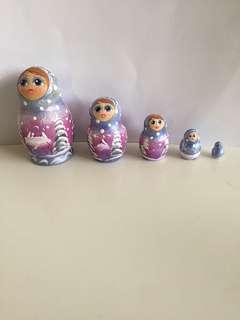 Santas coming Russian doll