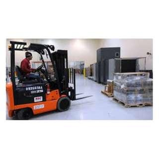 Forklift/MHE Driver (East & West available)