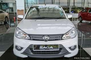 Proton Saga Baru. Full Loan!