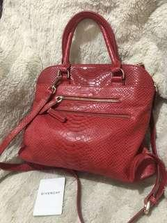 GIVENCHY TWO WAY BAG