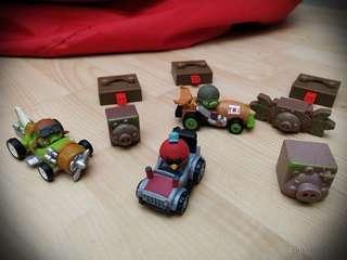 3 set Angry Birds Go!  Kart&Racer Game