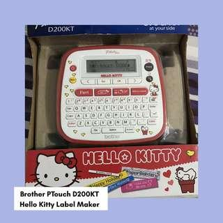 FREE SHIPPING Hello Kitty Label Maker