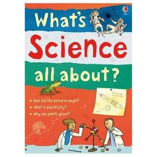 (Brand New) What's Science All About?   By: Adam Larkum (Illustrator) Paperback  For Ages: 11 - 14 years old