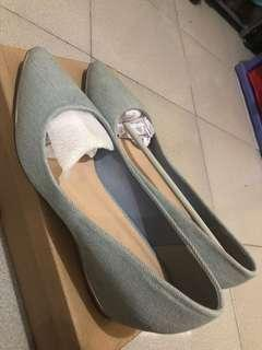 Wedges denim urban & co