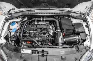 FORGE Twintake Carbon Fibre Filter for VW GTI mk5 mk5 a3 8p