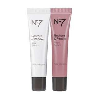 No. 7 Restore and Renew Day & Night Serum
