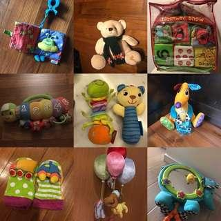 Baby Toys - all soft series for baby comfort & safety
