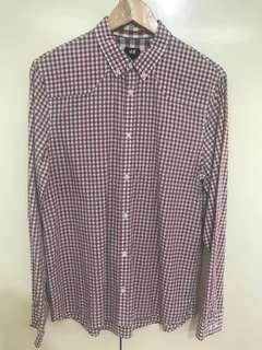 H&M Checkered Polo