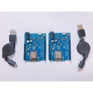 Wemos D1 含micro USB線