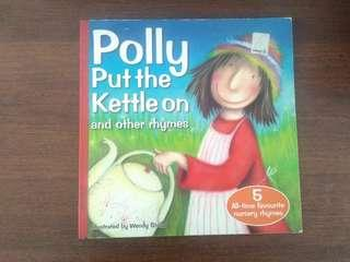 Polly put the kettle