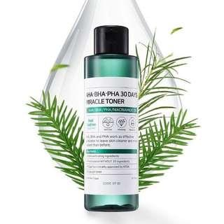 Some by Mi Miracle Toner NEW