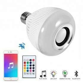 Lampu LED dgn speaker Bluetooth bisa handphone