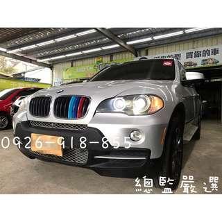 2007/08 BMW X5 3.0 7人座全景窗