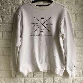 White UNLIMIT sweater