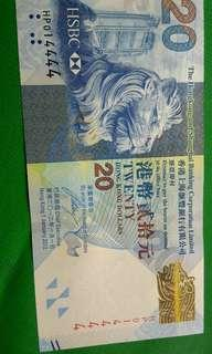 貳拾圓紙幣