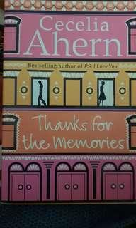 Cecilia ahern thanks for the memories