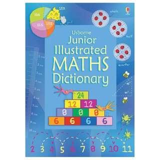 (Brand New) Junior Illustrated Maths Dictionary [Usborne Dictionaries]  By: Tori Large, Kirsteen Rogers, Ruth Russell (Illustrator) [Paperback]