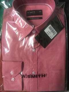 A.SMITH LONG SLEEVE SHIRT - SIZE 14.5