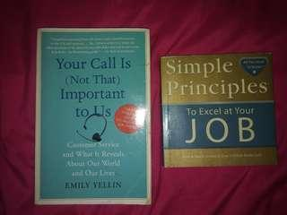 Books: Your call is not important to us / simple principles to excel at your job