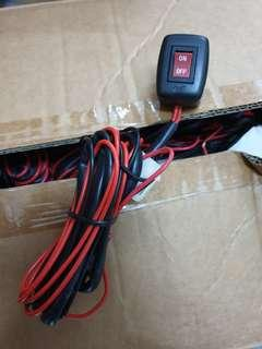 Light Switch with wiring harness
