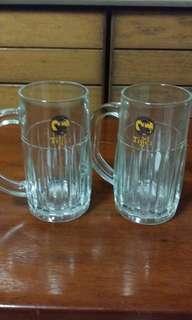 Vintage Tiger Beer Glass Mug.