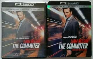 Blu Ray 4K The Commuter