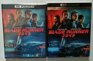 Blu ray 4K Blade Runner 2049