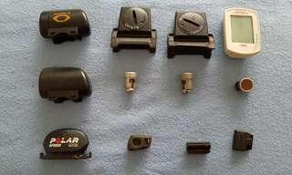 Random assortment of sensors and magnets