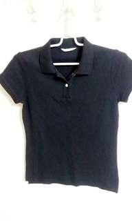 💕 Net 黑色Polo衫 T shirt
