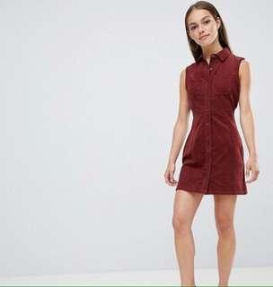 Brand New Cord Sleeveless Dress